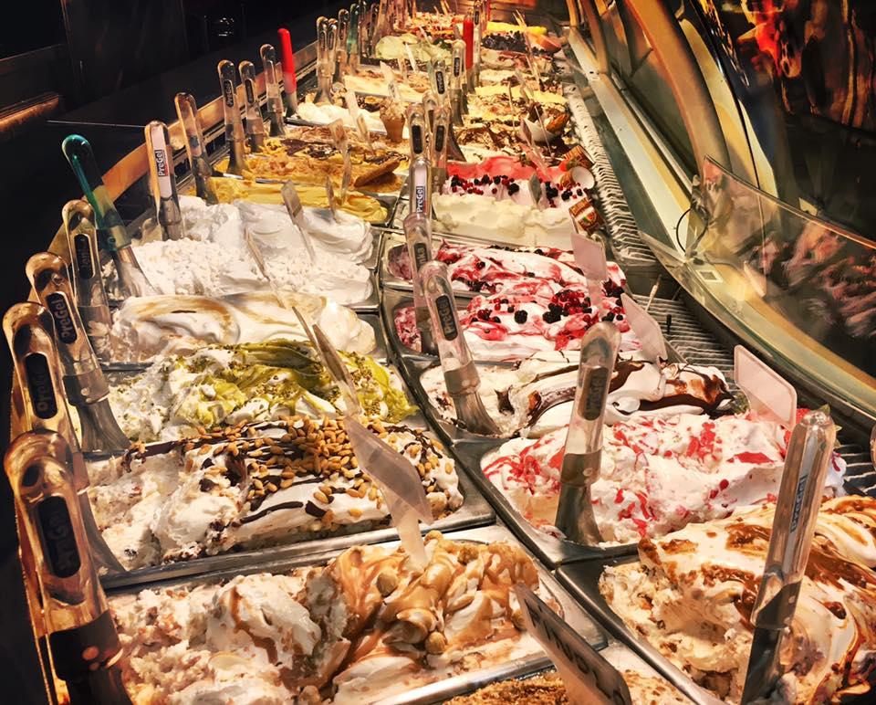 150 ou mais sabores de gelato - Crédito Foto Gelateria della Palma