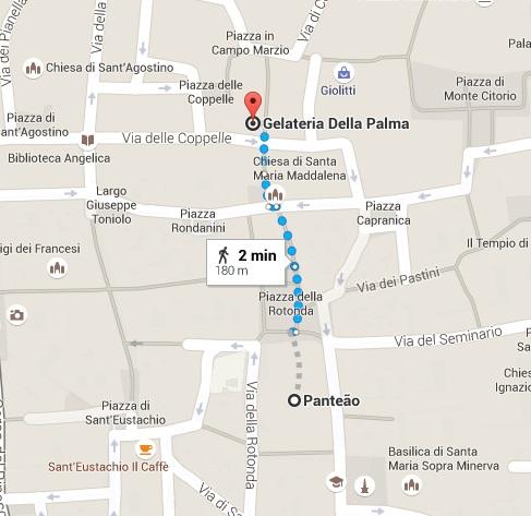 Mapa - Della Palma - VoupraRoma