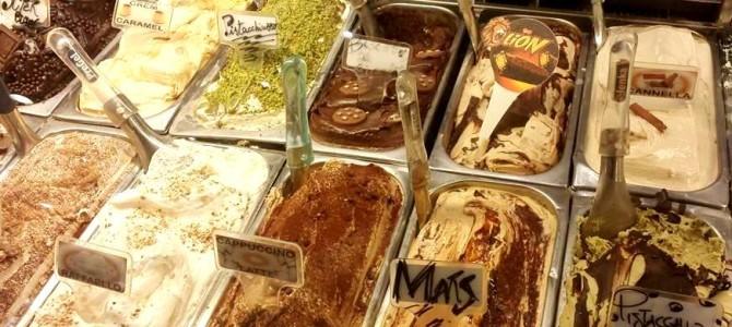 150 sabores de gelato italiano pra você descobrir em Roma.