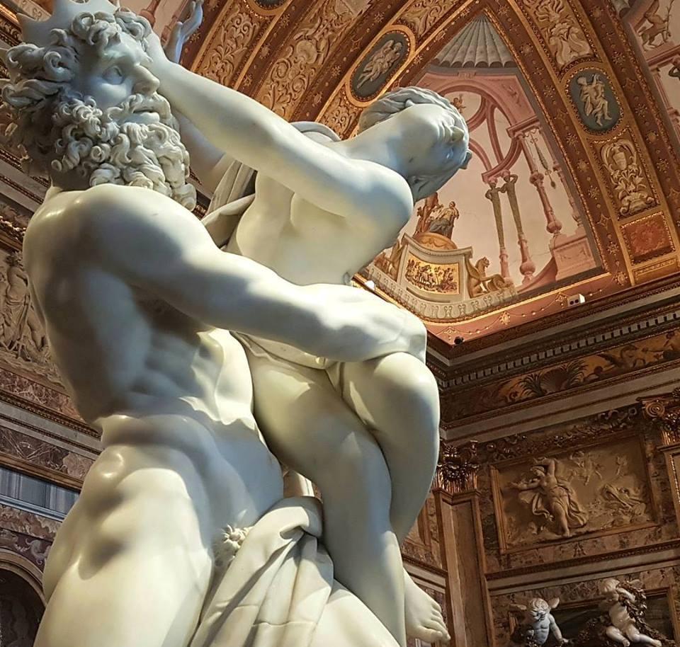Galleria Borghese - Bernini - Blog Vou pra Roma