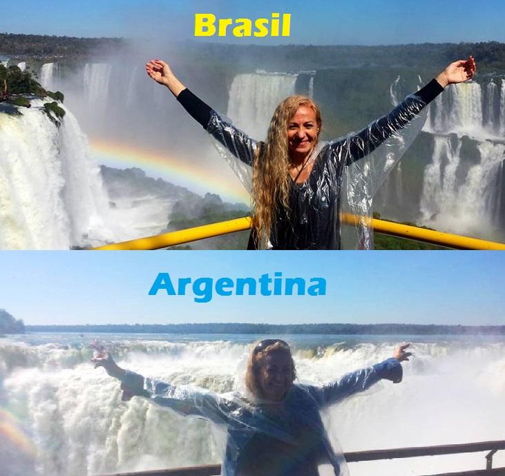 Cataratas do Iguaçu Brasil e Argentina - Blog VoupraRoma