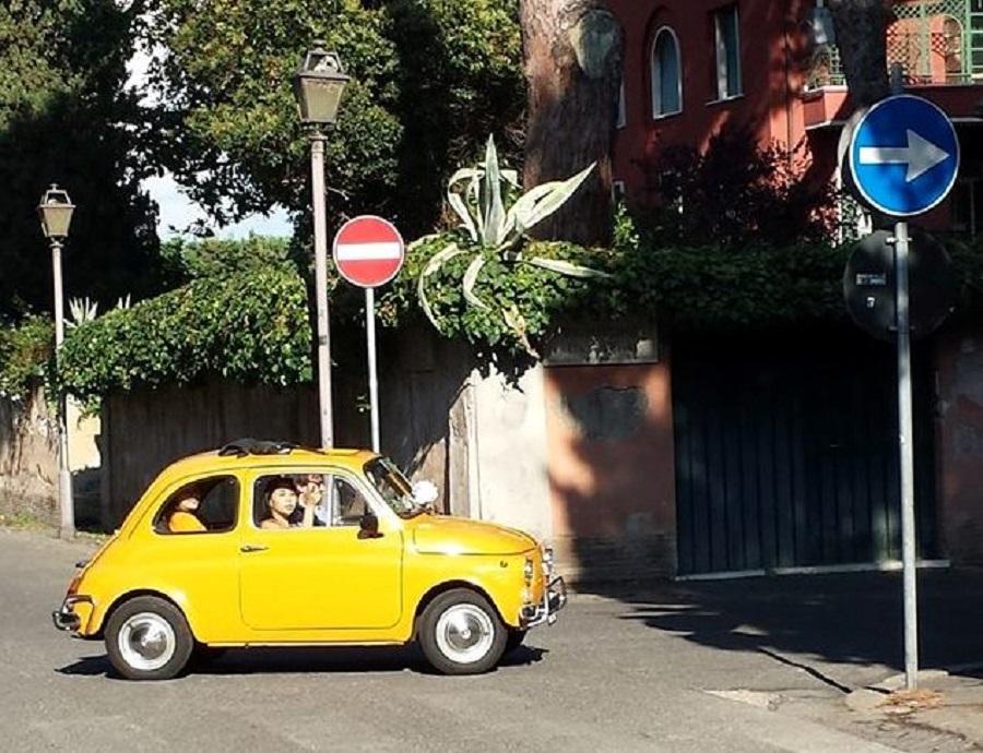 De carro em Roma - blog VoupraRoma