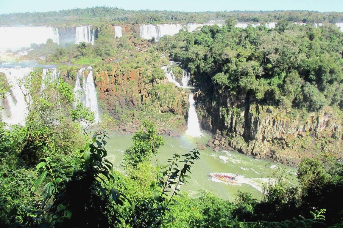 Vista Cataratas do Iguaçu Brasil - Blog Vou pra Roma