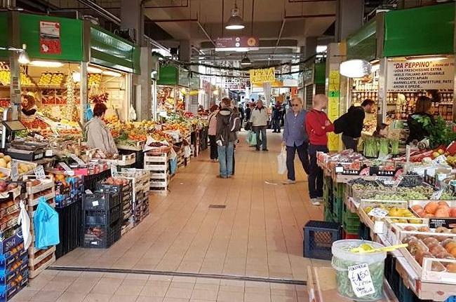 Mercado Trionfale em Roma - Blog VoupraRoma