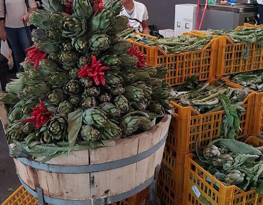 Alcachofras - Mercato Centrale Roma - Blog VoupraRoma