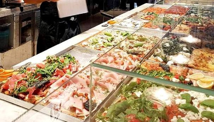 Mercato Centrale de Roma - Pizza al Taglio - Blog VoupraRoma
