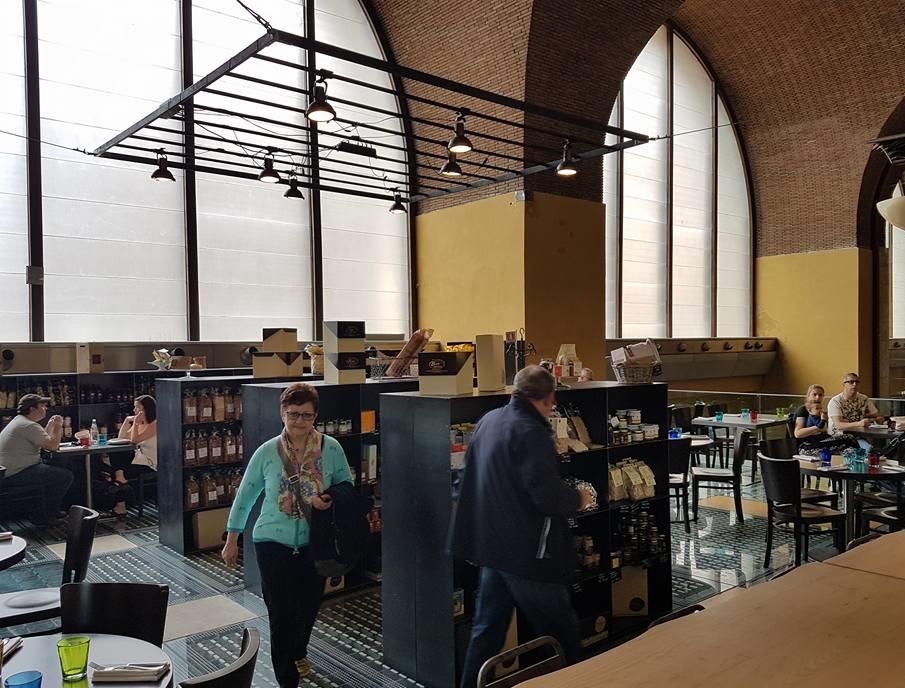 Mercato Cantrale Roma - Primeiro andar - Blog VoupraRoma
