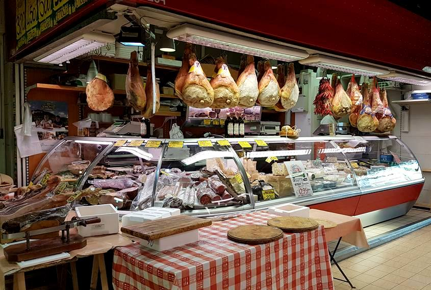 Queijos e frios no Mercado - Roma - Blog VoupraRoma