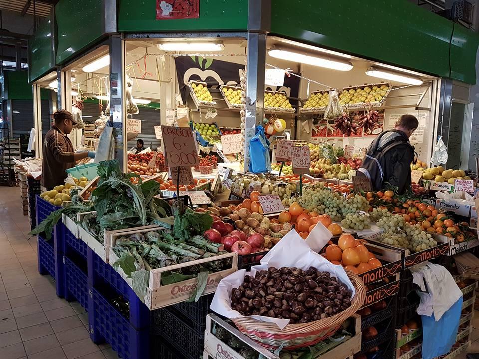 Verduras e Frutas - Mercado Rionale Roma - Blog VoupraRoma