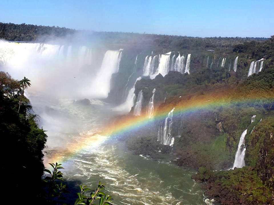 Vista Cataratas do Iguaçu Brasil - Blog VoupraRoma