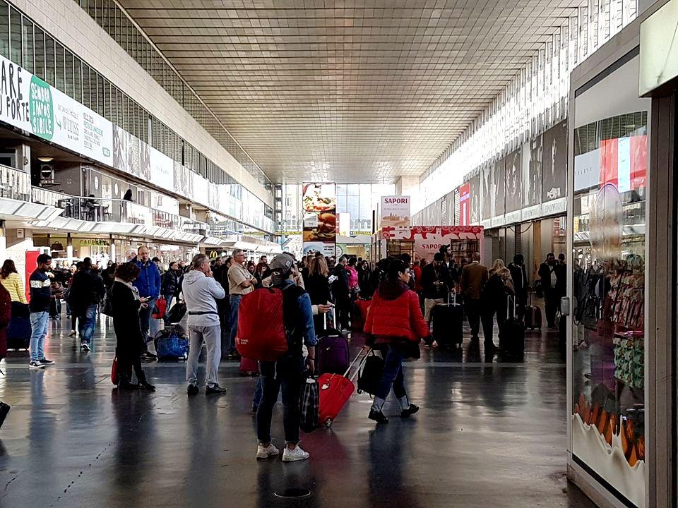 Estação Termini Roma - Blog VoupraRoma