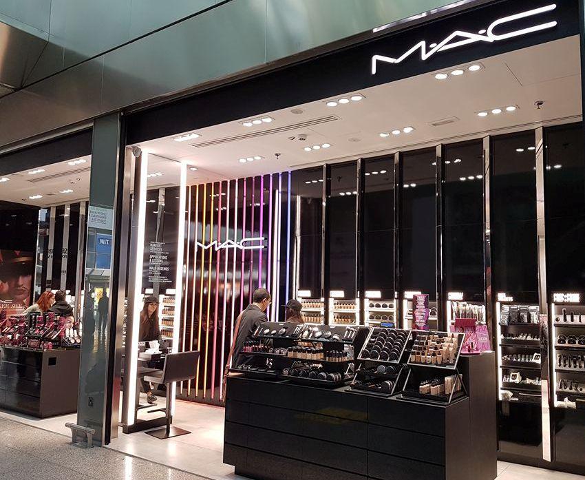 Estação Termini loja MAC - Blog VoupraRoma