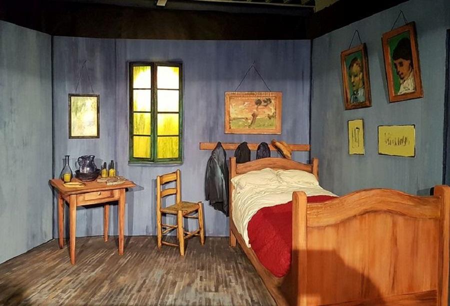 Quarto de Van Gogh em Arles - Blog VoupraRoma