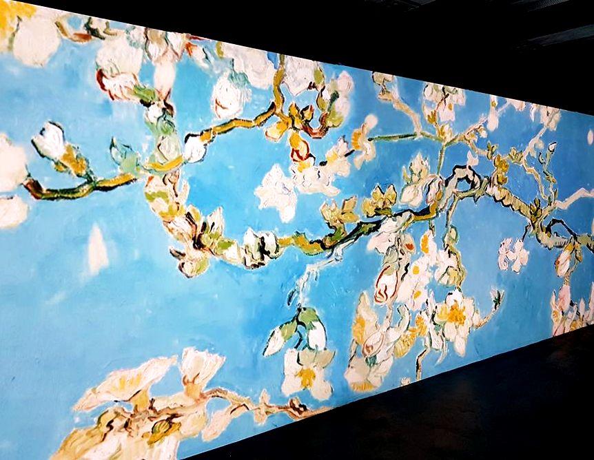 Van Gogh - Ramo de amêndoas florido - Blog VoupraRoma