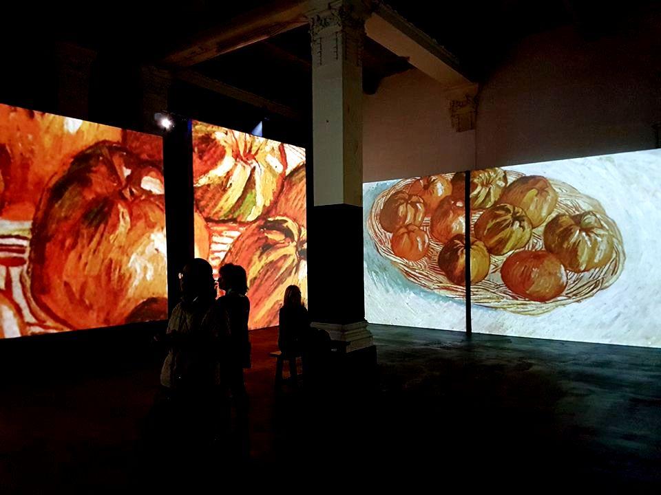 Van Gogh Alive  em Roma - Blog VoupraRoma