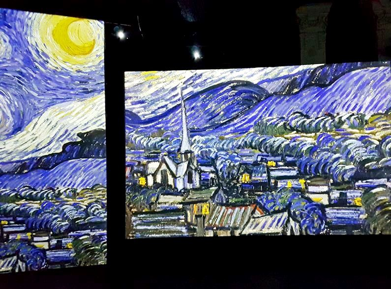 Mostra Van Gogh Alive em Roma - Blog VoupraRoma