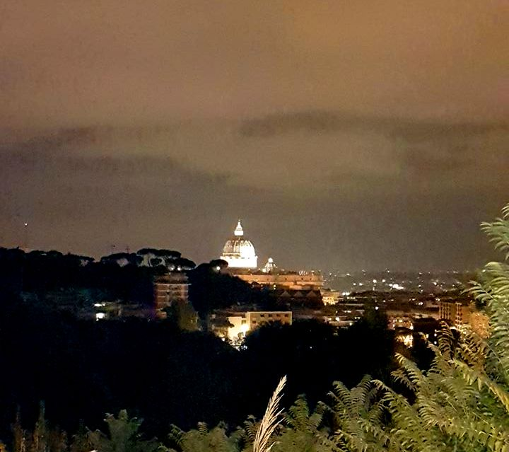 Vista Via Piccolomini em Roma - Blog VoupraRoma