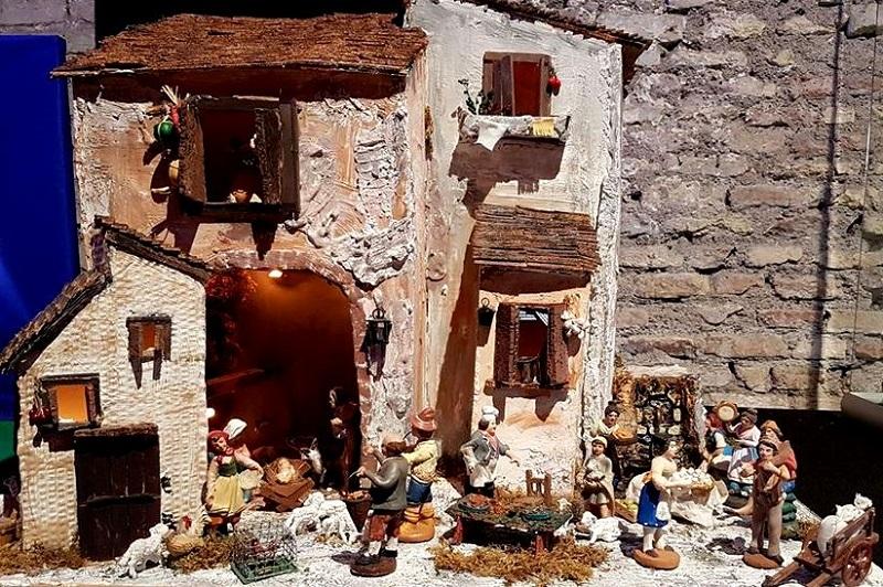Exposição 100 Presepi - riqueza de detalhes.