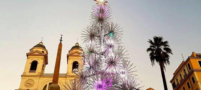 Um tour de Natal em Roma