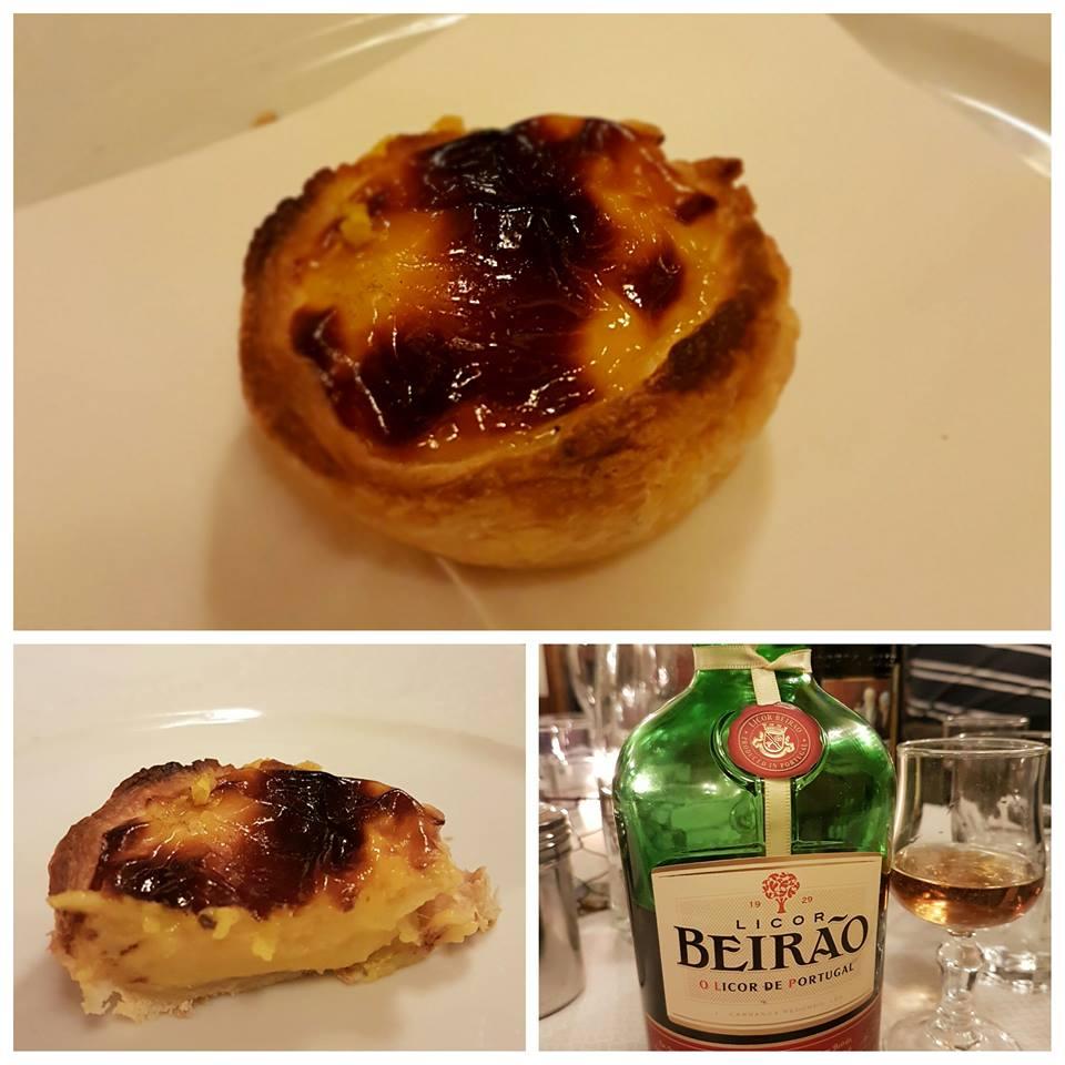 Pastel de Belém e licor Beirão-Tre Pupazzi-Blog VoupraRoma