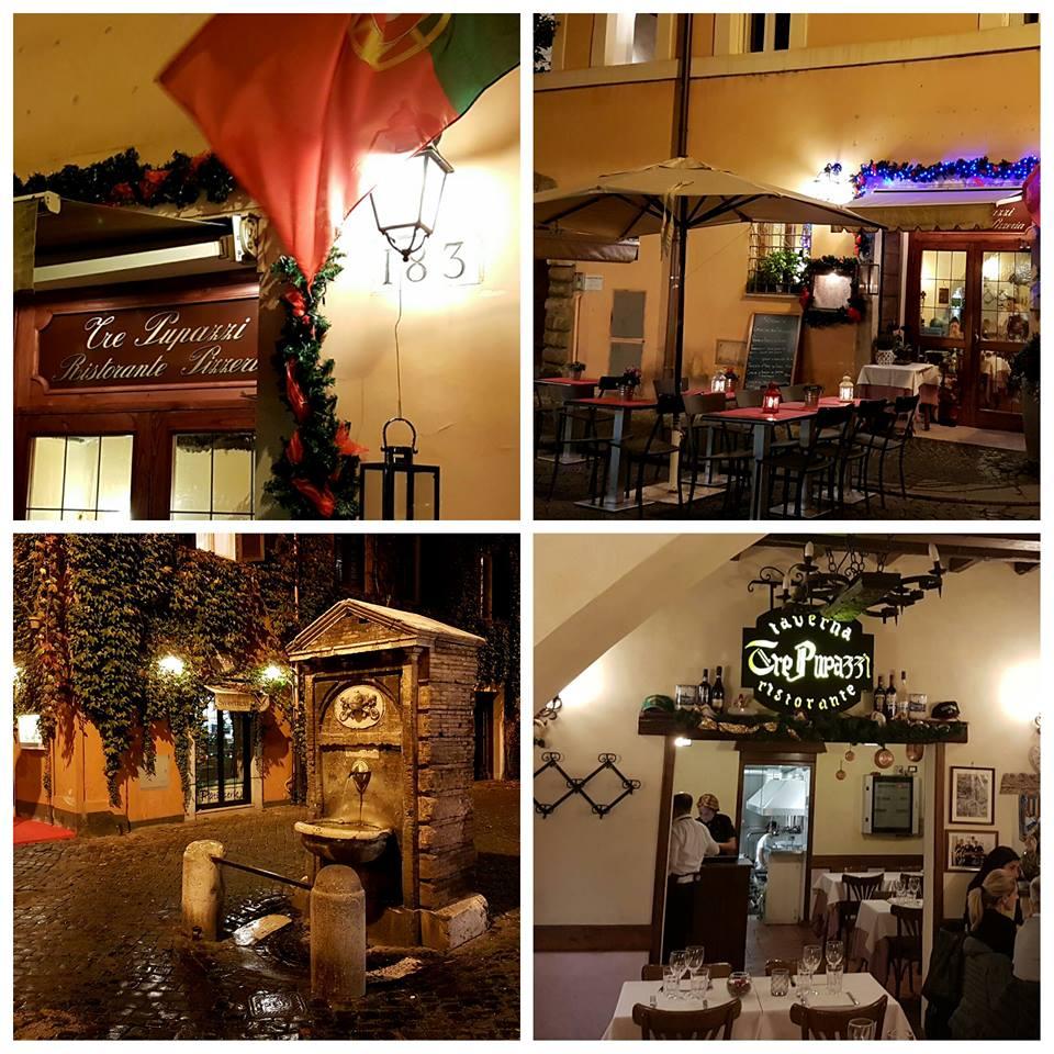 Restaurante Tre Pupazzi - perto do Vaticano - Blog VoupraRoma