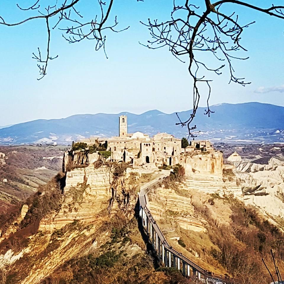 Civita di Bagnoregio - Um dos Borgos mais lindos da Itália.