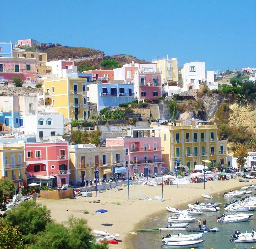 Ilha de Ponza - Itália - Blog Vou pra Roma