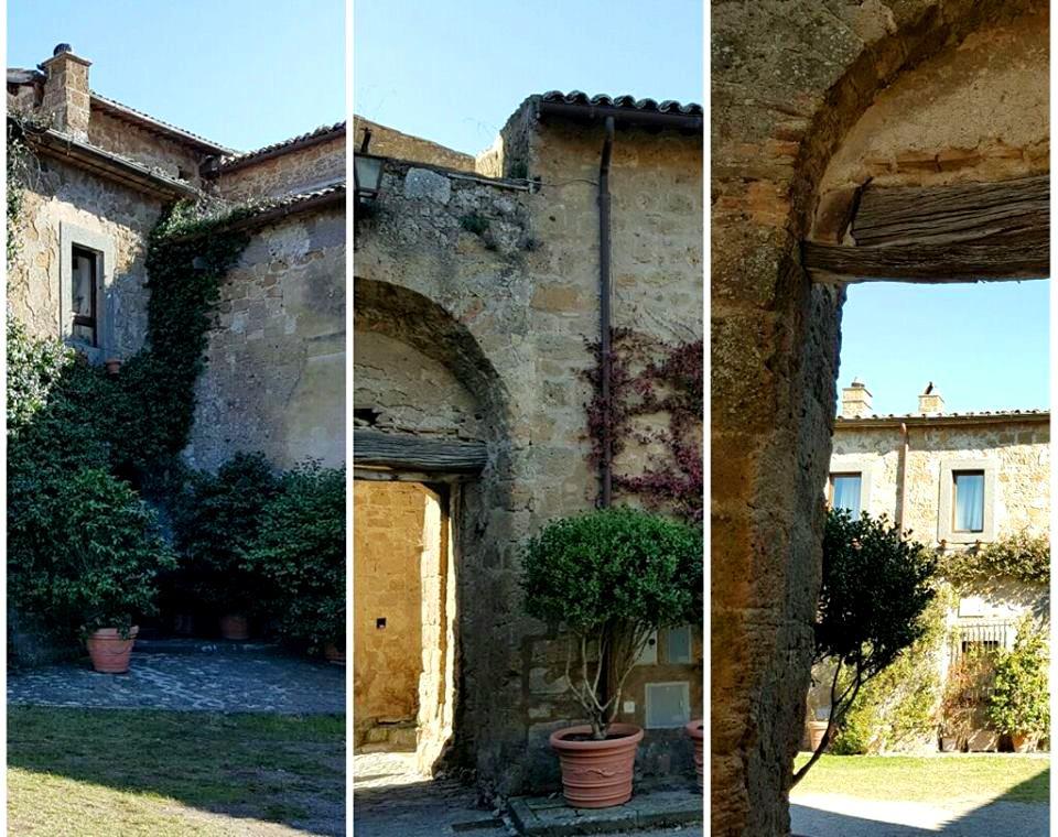 Civita di Bagnoregio - Piazza del Vescovato - Blog Vou pra Roma
