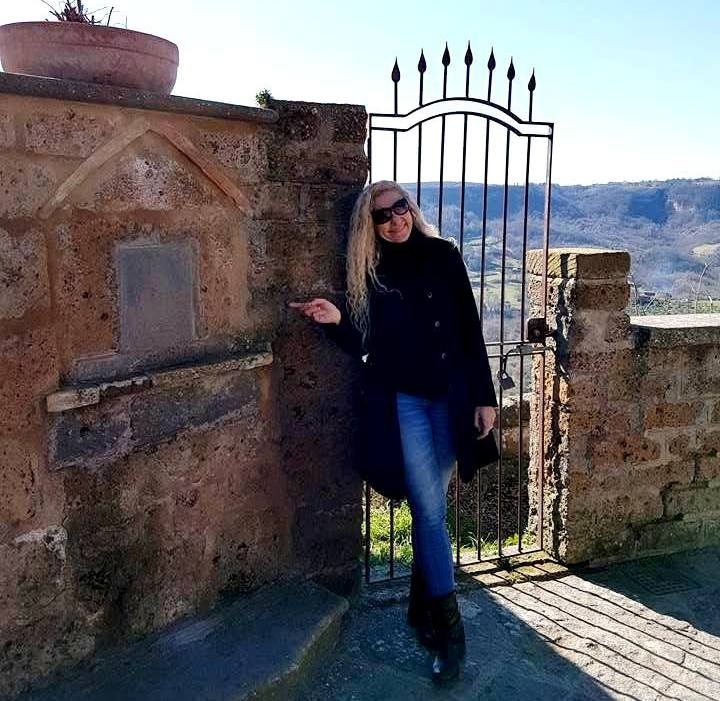 Civita di Bagnoregio - Portão da Casa di San Bonaventura