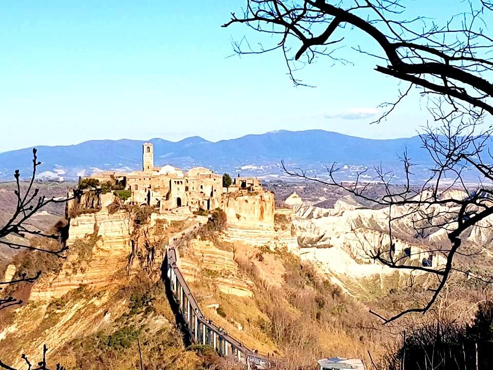 Civita di Bagnoregio vista do Belvedere - Blog Vou pra Roma