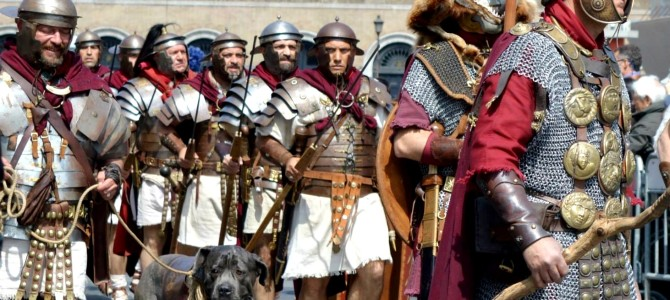 Aniversário de Roma 2770 anos
