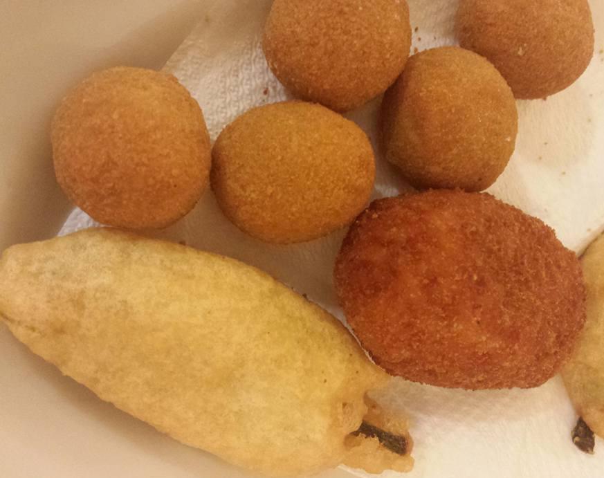 Top 10 dicas comidas imperdíveis em Roma - Fritti - Blog VoupraRoma