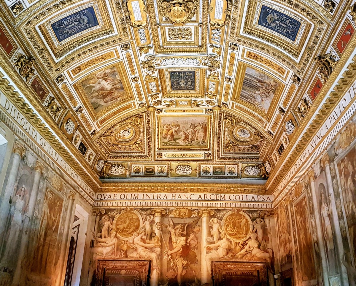 Castel Sant'Angelo - Sala Paolina - Blog Vou pra Roma