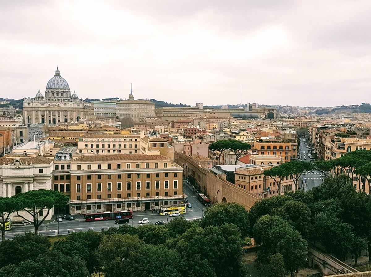 Castel Sant'Angelo - Vista Vaticano - Blog Vou pra Roma
