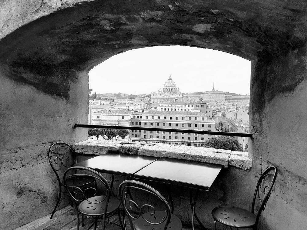 Castel Sant'Angelo - café - Blog Vou pra Roma