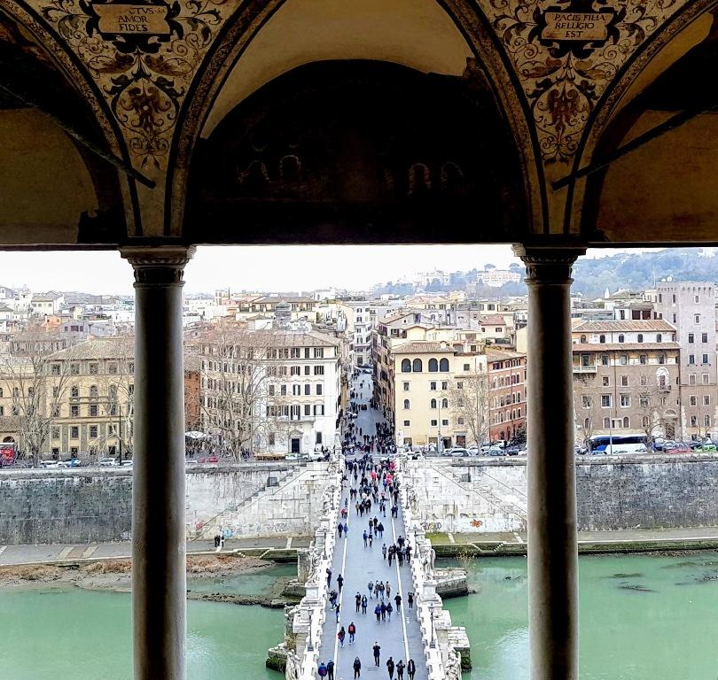 Castel Sant'Angelo - visita grátis - Blog Vou pra Roma