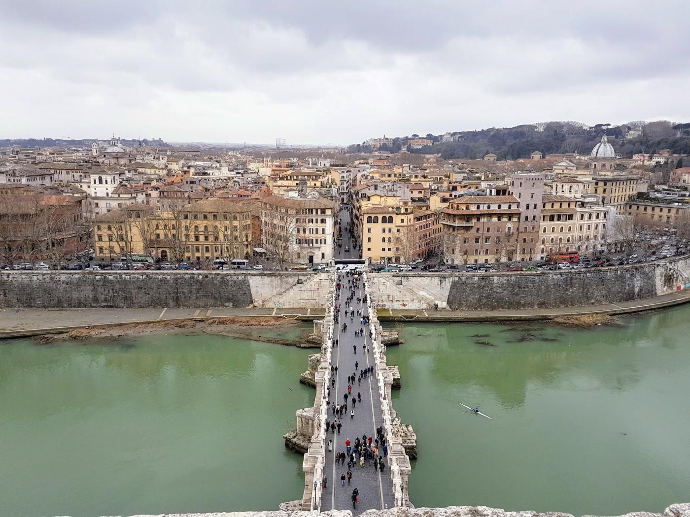 Castelo Sant'Angelo - Vista 360 graus - Blog Vou pra Roma