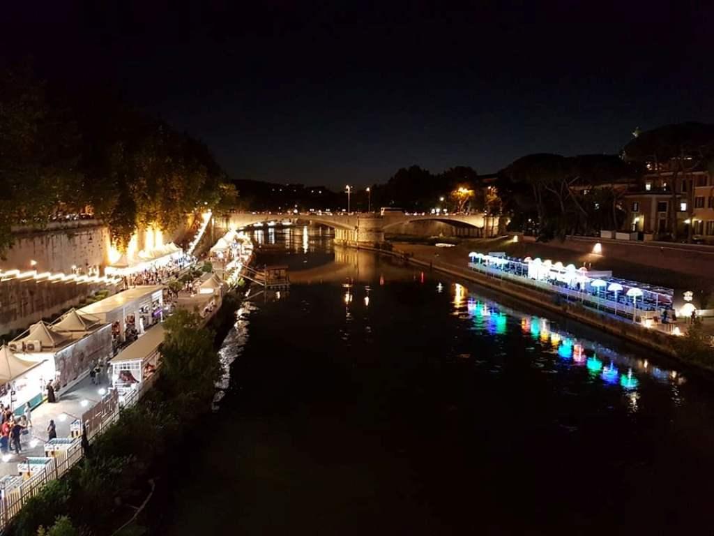 Lungo il Tevere - varão Roma - Blog Vou pra Roma