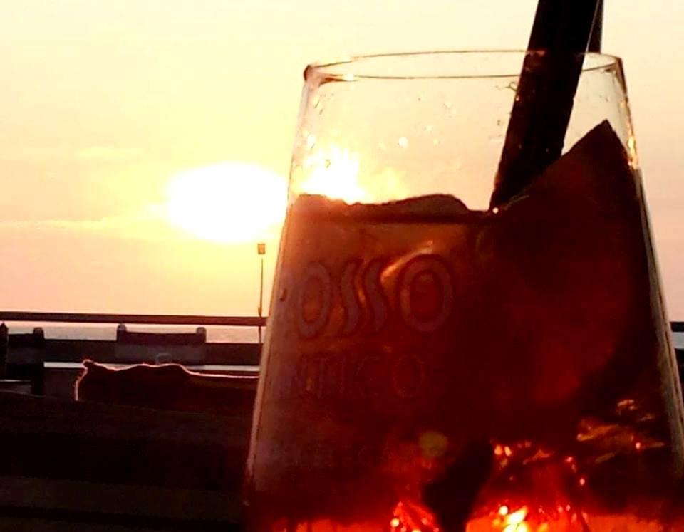 Por do sol no mar Tirreno - Verão em Roma - Blog Vou pra Roma