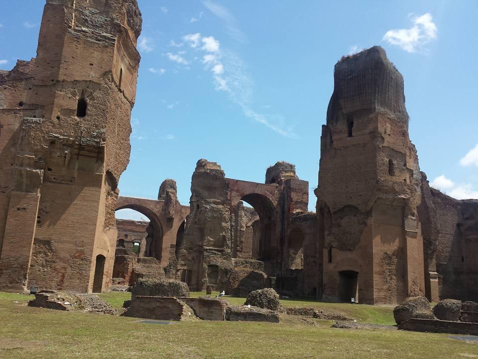 Verão em Roma -Termas de Caracalla - Blog Vou pra Roma