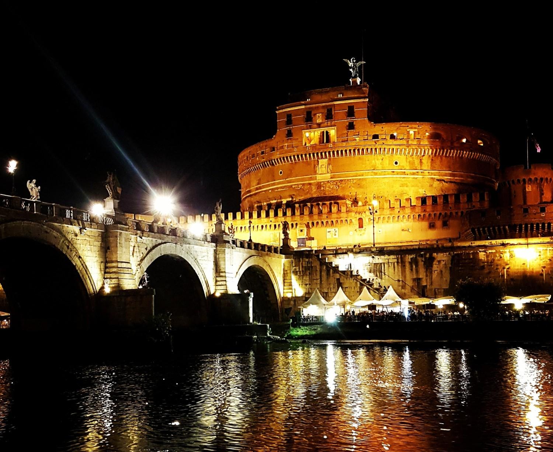 Passeio de Barco pelo Rio Tevere em Roma - Vista Castel Sant'Angelo - Blog Vou pra Roma