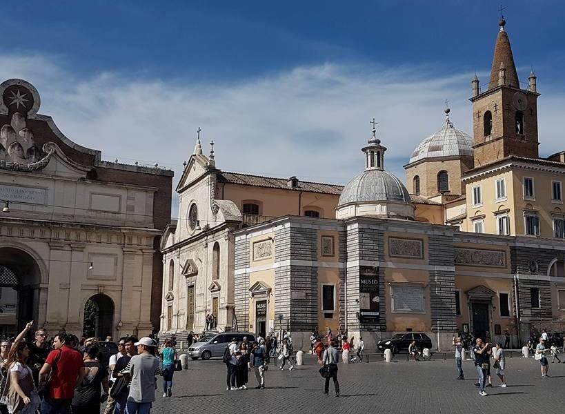 Caravaggio em Roma - Igreja Santa Maria del Popolo - Blog Vou pra Roma (2)