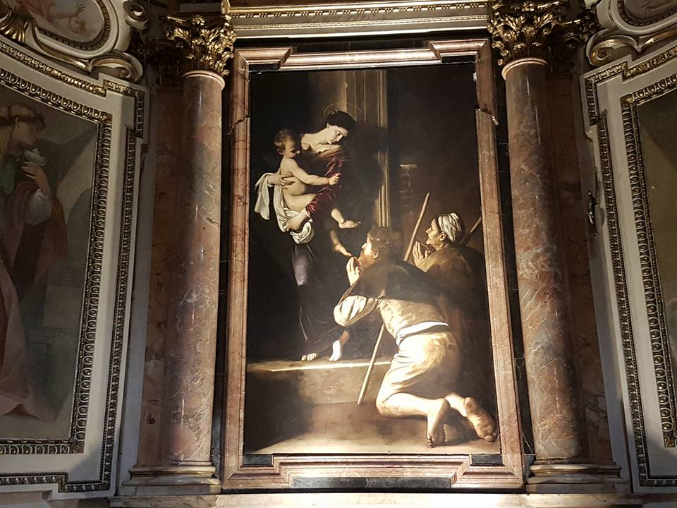Caravaggio em Roma - Igreja Santo Agostinho - Blog Vou pra Roma