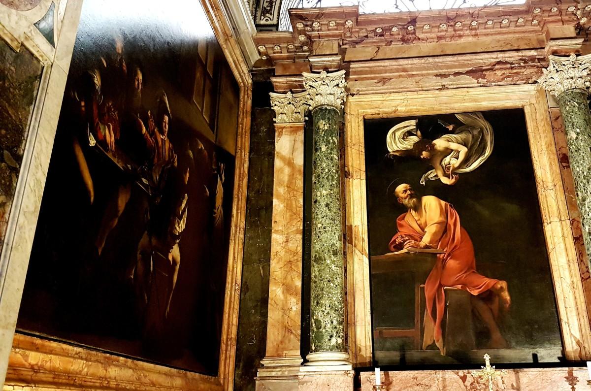 Caravaggio em Roma - San Luigi dei Francesi - Blog Vou pra Roma