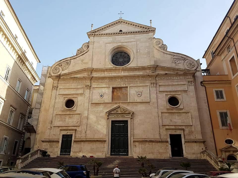 Caravaggio em Roma na Igreja Santo Agostinho - Blog Vou pra Roma