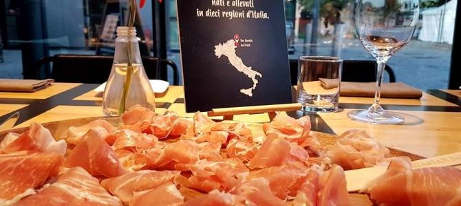 Aperitivo em Roma com degustação de Prosciutto