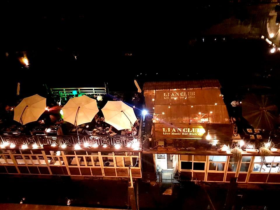 Aperitivo e musica no Bar Flutuante Roma - blog Vou pra Roma