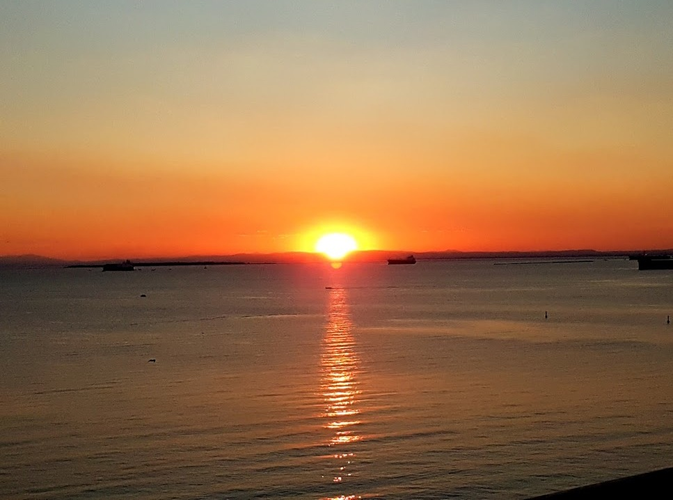 Taranto - Por do sol - Mercure Delfino Hotel - Blog Vou pra Roma