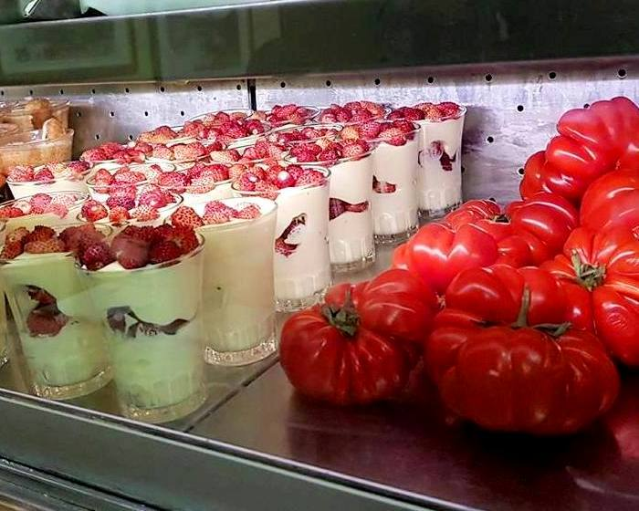 Onde comer em Roma - Trastevere - Creme de marcarpone com morangos - Blog Vou pra Roma