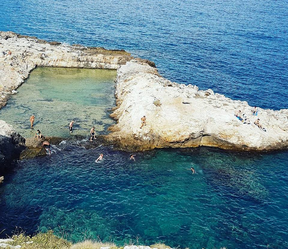Polignano a Mare - Puglia - Piscina Natural - Il Grottone - Blog Vou pra Roma